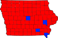 1994 Iowa Governor Election Results.png