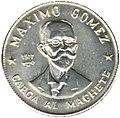 1 песо. куба. 1977. Максимо Гомес.jpg