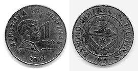 1 philippinischer Peso 2003