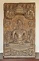 1st Jain Tirthankara Rishabhanatha - Circa 8th Century CE - Barsana - ACCN 18-1504 - Government Museum - Mathura 2013-02-23 5082.JPG