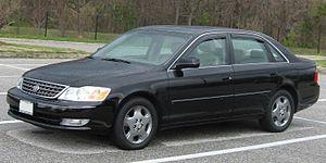 Toyota Avalon - 2003–2004 Toyota Avalon XLS (US)