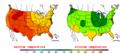 2003-07-24 Color Max-min Temperature Map NOAA.png
