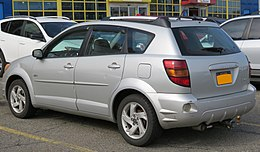 2003 Pontiac Vibe (First Generation) rear 4.6.18.jpg