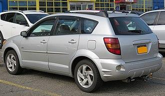 Pontiac Vibe - Pre-facelift Pontiac Vibe