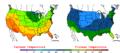2006-05-12 Color Max-min Temperature Map NOAA.png