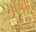 2006-06-27 Stralsund, Sciagrapiha civitatis Stralsundensis Pomerania 1647, Ausschnitt mit Nikolaikirche, Johannes Staude.jpg