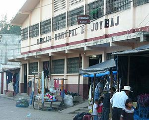 Joyabaj - Municipal Market of Joyabaj