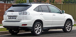 2007-2008 Lexus RX 350 (GSU35R) Sports Luxury wagon 03.jpg