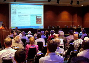 Esperanto Wikipedia - One of the Wikipedia meetups at World Esperanto Congress, Rotterdam 2008