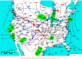2009-02-17 Surface Weather Map NOAA.png