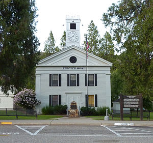 Mariposa, California - Mariposa County Courthouse