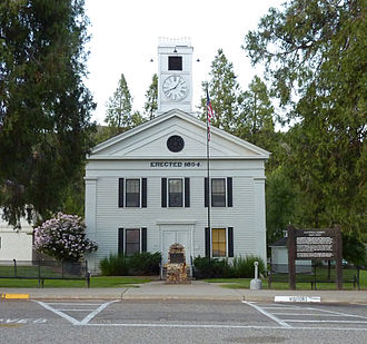California Historical Landmarks in Mariposa County, - Image: 2009 0724 CA Mariposa CH