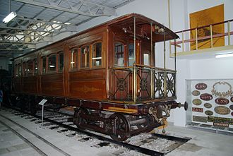 Athens–Piraeus Electric Railways - The Royal Saloon (1888)
