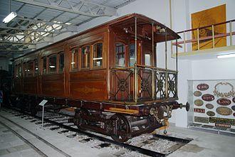 Athens–Piraeus Electric Railways - The Royal Saloon (1888)