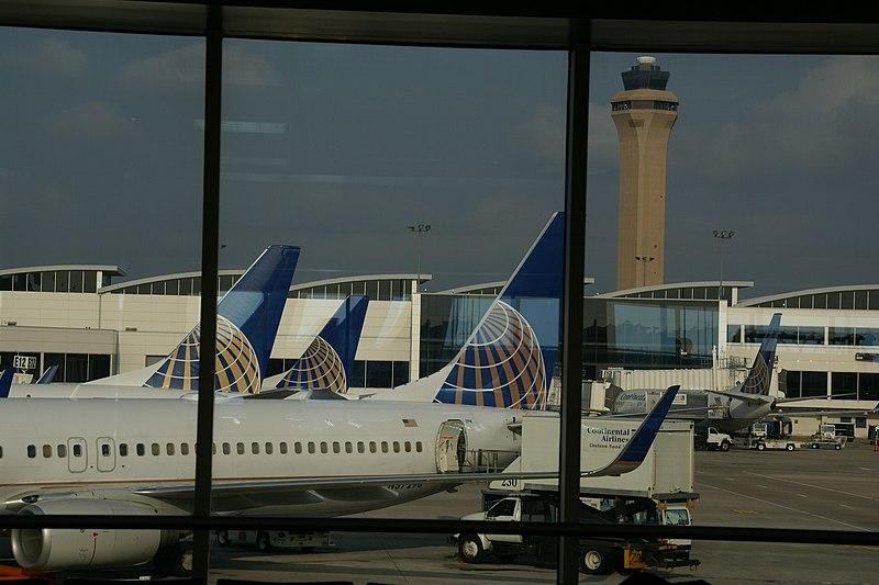 Avioes Continental Houston IAH