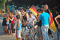 2010 FIFA World Cup Germany national football team Fans in Uetersen 02.jpg