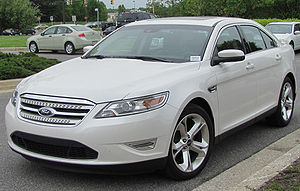 2010 Ford Taurus SHO photographed in Columbia,...