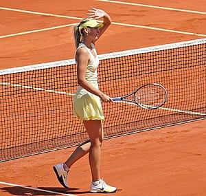 2012 WTA Tour - Image: 2011 French Open Maria Sharapova