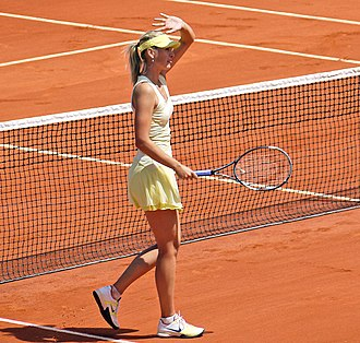 2012 WTA Tour - Image: 2011 French Open Maria Sharapova
