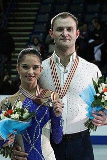 Vera Bazarova Russian pair skater