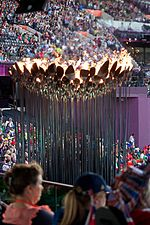 2012 Olympic Cauldron 4 Aug 2.jpg