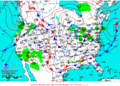 2013-01-26 Surface Weather Map NOAA.png