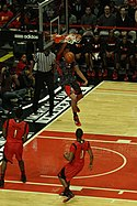 20130403 MCDAAG Aaron Gordon alley oop from Aaron Harrison (7).JPG