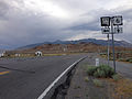 2014-07-18 17 50 32 View east along U.S. Route 6 about 118 miles east of the Esmeralda County Line at the junction with Nevada State Route 379 (Duckwater Road) in Currant, Nevada.JPG