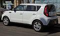 2014 Kia Soul Plus (US), rear left.jpg