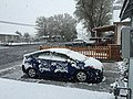 2015-05-07 07 06 21 A late spring wet snowfall at 730 South 9th Street in Elko, Nevada.jpg