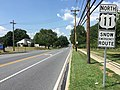 2016-07-29 14 53 18 View north along U.S. Route 11 (Pennsylvania Avenue) between Fairview Road and Haven Road in Hagerstown, Washington County, Maryland.jpg