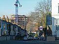 2016 Woolwich, Trinity Walk construction site 01.jpg