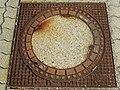 2017-09-14 (119) Manhole cover at Bahnhof Neulengbach.jpg