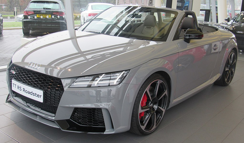 File2017 Audi Tt Rs Roadster Frontg Wikimedia Commons