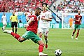 2018 FIFA World Cup Group B march IRN-MAR 24.jpg