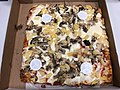 2019-04-21 20 34 12 Sicilian pizza with mushrooms and pineapple from Buon Appetito's NY Pizza in the Dulles section of Sterling, Loudoun County, Virginia.jpg