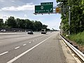 2019-05-29 15 59 44 View north along the inner loop of the Capital Beltway (Interstate 495) at Exit 54 (Virginia State Secondary Route 620-Braddock Road) in North Springfield, Fairfax County, Virginia.jpg