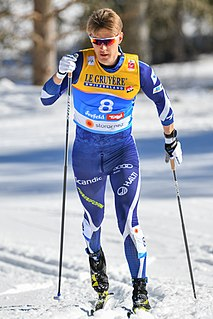 Anssi Pentsinen Finnish cross-country skier