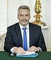 2020 Karl Nehammer Ministerrat am 8.1.2020 (49351366976) (cropped).jpg