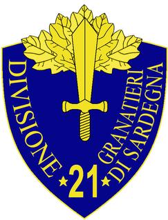 21st Infantry Division Granatieri di Sardegna