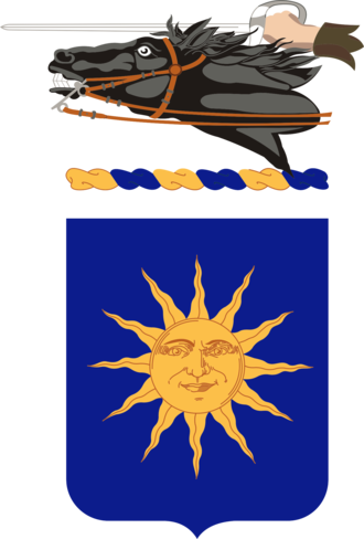 26th Cavalry Regiment - Coat of arms