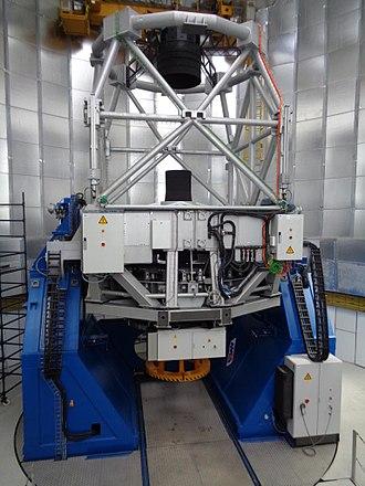 Devasthal Observatory - Image: 3.6 m Devasthal Optical telescope, India