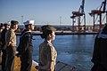 31st MEU Marines man the rails aboard the USS Bonhomme Richard (LHD-6) 150625-M-CX588-089.jpg