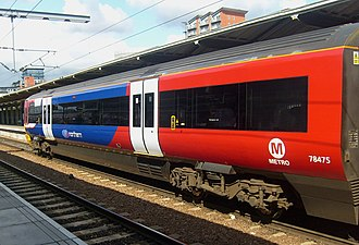 British Rail Class 333 - Image: 333002 DMSO Vehicle Exterior Livery