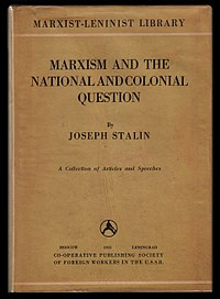Marxism and the National Question cover