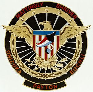 Gary Payton (astronaut) - Image: 51 c patch
