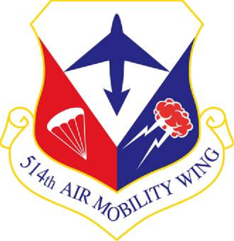 514th Air Mobility Wing - Image: 514 Air Mobility Wing emblem