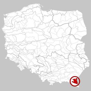 Sanok-Turka Mountains - Image: 522.11 Góry Sanocko Turczańskie