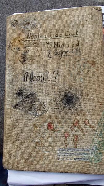 Mon agenda, dagboek, beetje bereisd