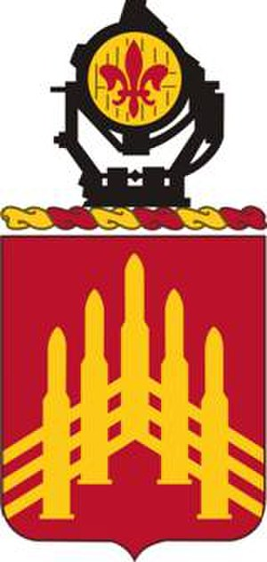 71st Air Defense Artillery Regiment - Coat of arms
